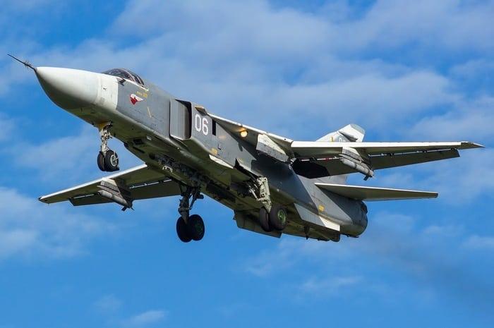 су-24 в полёте