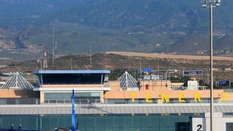 северный аэропорт на карте Тенерифе