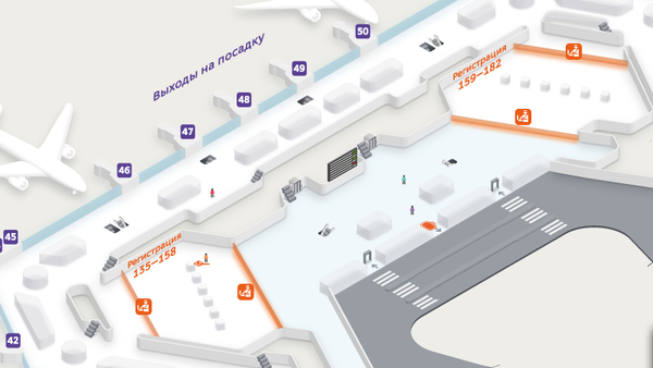 схема проезда аэропорт Шереметьево терминал E