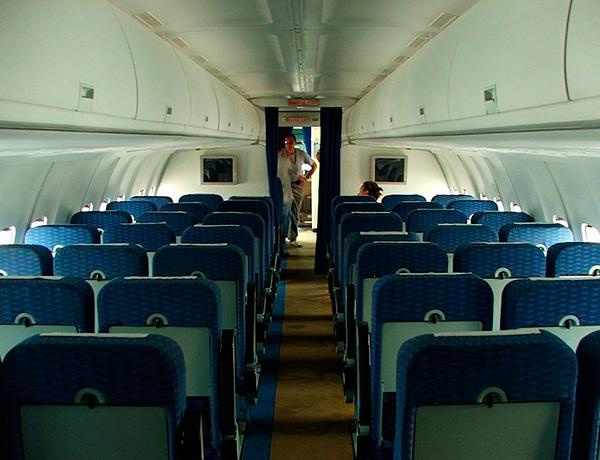 Ту-334 салон