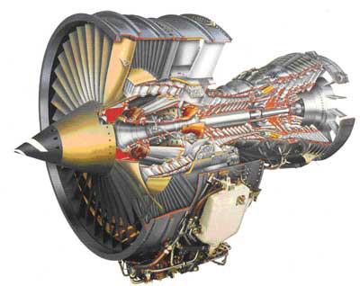 Газотурбинный двигатель. Фото. Строение. Характеристики.