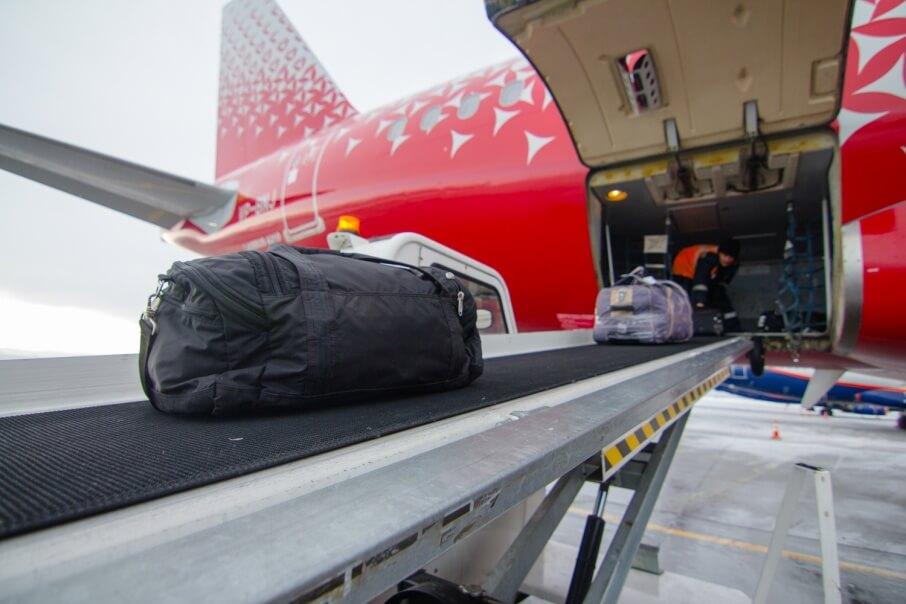 Погрузка багажа
