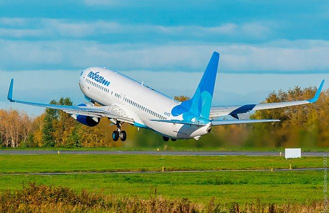 Взлет Boeing 737