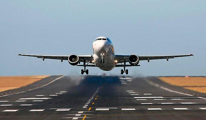Взлет Boeing