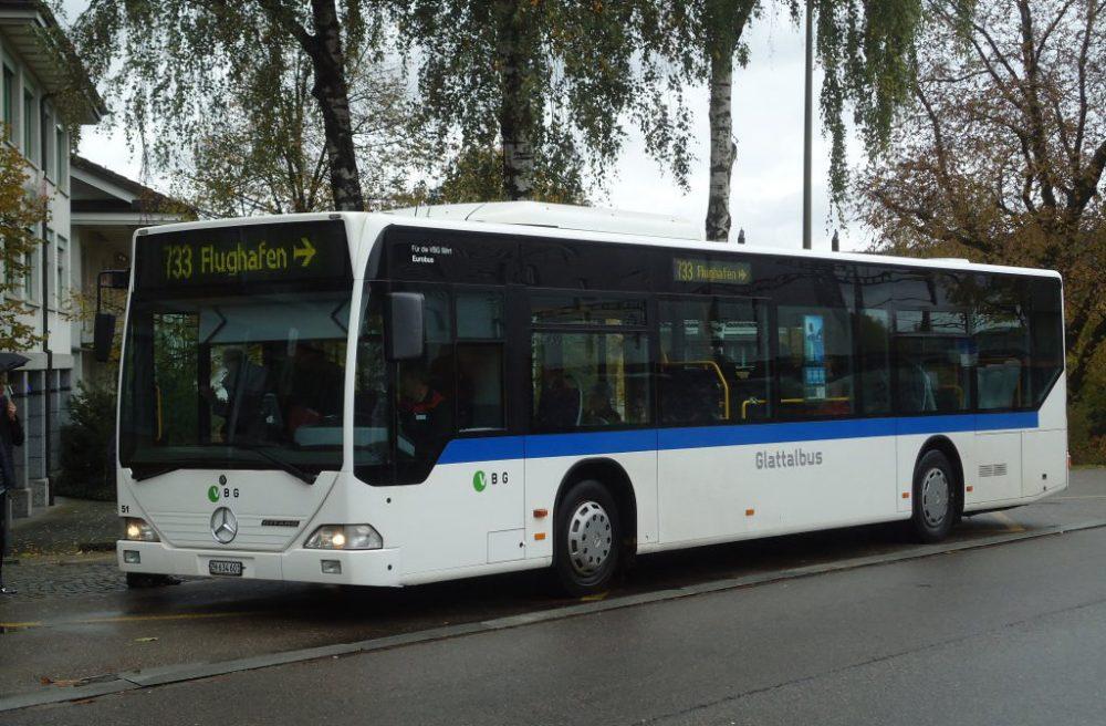 Цюрих, автобус