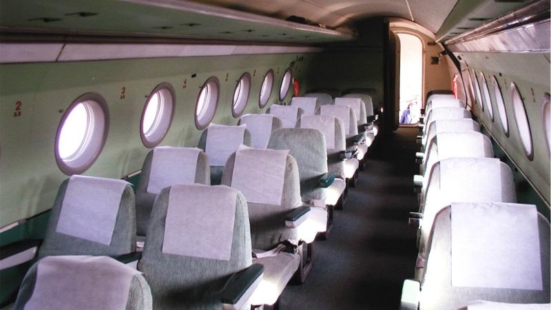 Салон Як-40