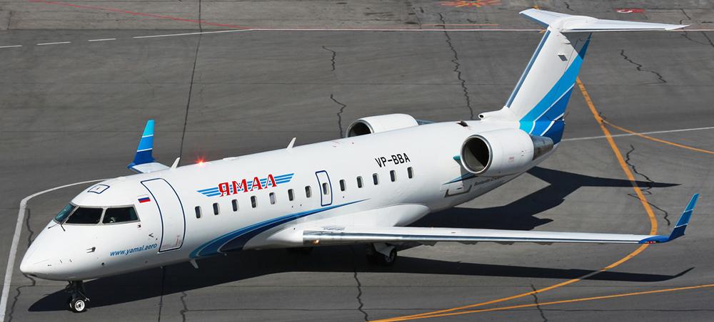 Bombardier CRJ-200 авиакомпании Ямал