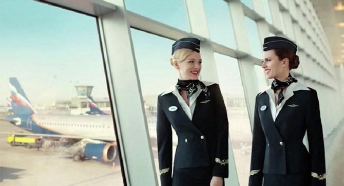 Зарплата стюардесс в Аэрофлоте