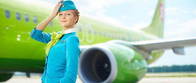 Зарплата стюардесс в S7
