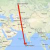 Время перелета Екатеринбург: Мальдивы